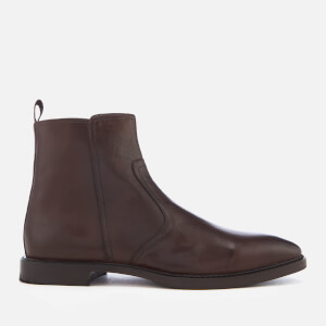 Kurt Geiger London Men's Bournemouth Leather Ankle Boots - Brown