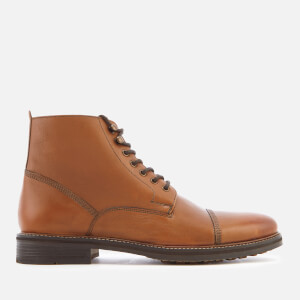 Kurt Geiger London Men's Billington Work Leather Lace Up Boots - Brown