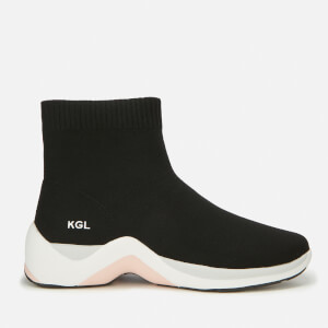 Kurt Geiger London Women's Linford Sock Trainers - Black