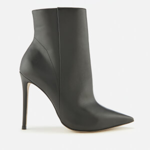 Carvela Women's Spectacular Leather Heeled Shoe Boots - Black