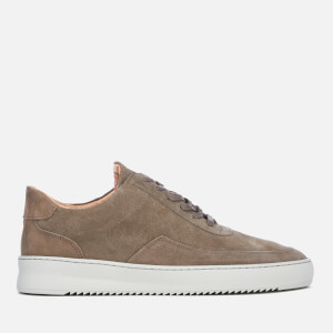 Filling Pieces Men's Nardo Suede Trainers - Taupe