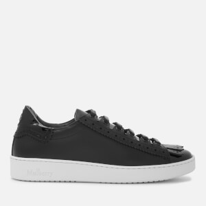 Mulberry Women's Patent Low Top Trainers - Black
