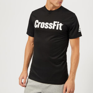 Reebok Men's CrossFit Logo T-Shirt - Black