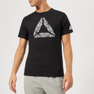 Reebok Men's Mantra Delta Short Sleeve T-Shirt - Black