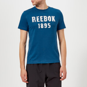 Reebok Men's 1985 Short Sleeve T-Shirt - Bunker Blue