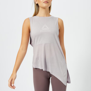 Reebok Women's Muscle Tank Top - Lavender Luck