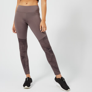 Reebok Women's Colour Block Tights - Almost Grey