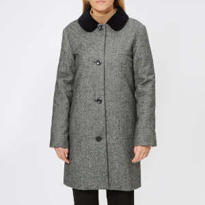 A.P.C. Women's Poupee Coat - Anthracite Chine