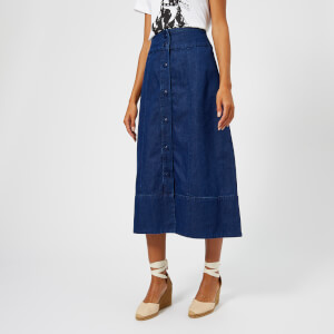 A.P.C. Women's Knight Skirt - Indigo