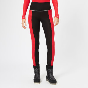 S'No Queen Women's Stripetease Leggings - Black/Red