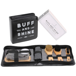 The Dapper Chap 'Buff and Shine' Shoe Cleaning Kit
