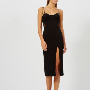 Bec & Bridge Women's Wild Things Midi Dress - Black