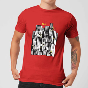 The Incredibles 2 Skyline T-shirt - Rood