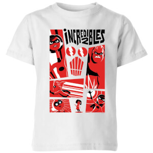 T-Shirt Enfant Les Indestructibles 2 - Affiche - Blanc