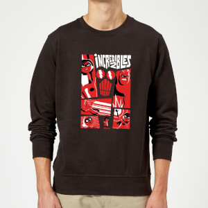 Sweat Homme Les Indestructibles 2 - Affiche - Noir