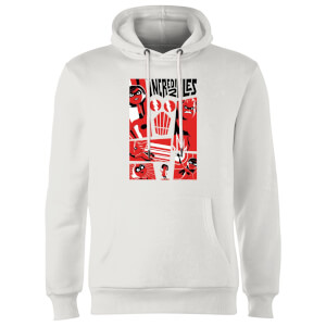 The Incredibles 2 Poster Hoodie - Wit