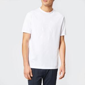 Armani Exchange Men's Tonal Logo Reg Fit T-Shirt - White