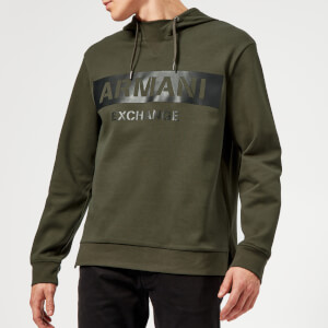 Armani Exchange Men's Overhead Hoody - Green
