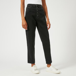 J Brand Women's Heather Button Fly Jeans - Overthrow