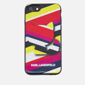 Karl Lagerfeld Women's K/Stripes Phone Case - Multi