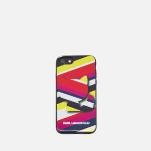 Karl Lagerfeld Women's K/Stripes Phone Case - Multi