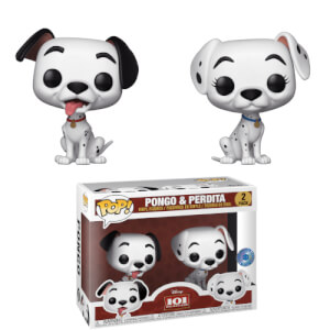 Esclusiva PIAB Disney - Pongo & Peggy 2-Pack Figure Pop! Vinyl