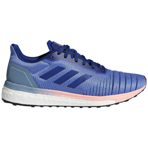 adidas Women's Solar Drive Running Shoes - Lilac/Ink