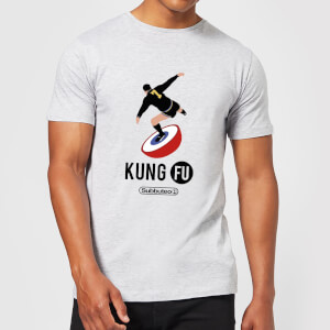 Subbuteo Kung Fu Men's T-Shirt - Grey
