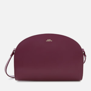 A.P.C. Women's Demi-Lune Cross Body Bag - Pink