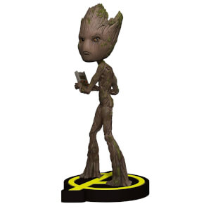 Muñeco Groot Head-Knocker Vengadores: Infinity War - NECA