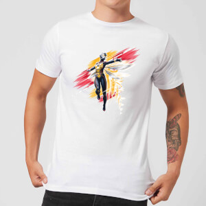Ant-Man And The Wasp Brushed Herren T-Shirt - Weiß