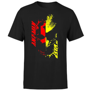 Ant-Man And The Wasp Split Face Men's T-Shirt - Black