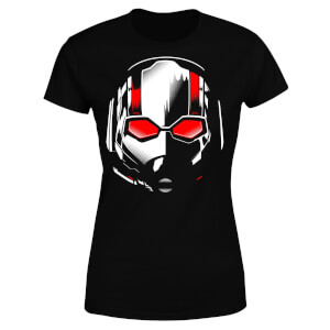Ant-Man And The Wasp Scott Mask Damen T-Shirt - Schwarz