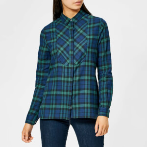 Barbour Women's Padstow Shirt - Navy/Kelp