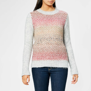 Barbour Women's Hamble Knit Jumper - Lt Grey Marl