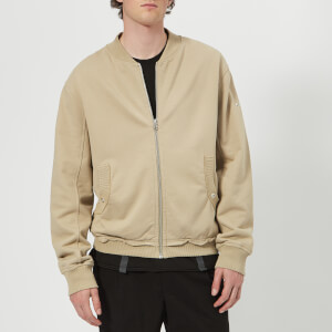 Helmut Lang Men's Distressed Jacket - Aluminum
