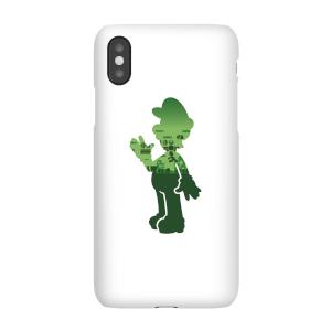 Funda Móvil Nintendo Super Mario Luigi Silhouette para iPhone y Android