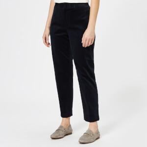 Polo Ralph Lauren Women's Corduroy Trousers - Navy