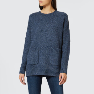 Polo Ralph Lauren Women's Wool and Cashmere Blend Crew Neck Jumper with Pockets