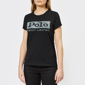 Polo Ralph Lauren Women's Polo Logo T-Shirt - Black