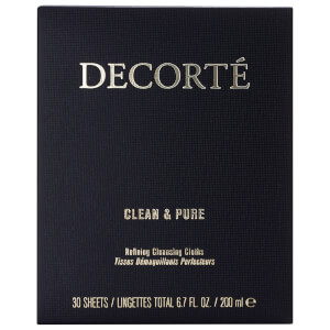 Decorté Clean & Pure Refining Cleansing Cloths