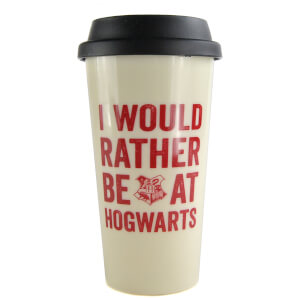 Harry Potter Travel Mug (Hogwarts Slogan)