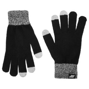 Knitted Gloves - Black