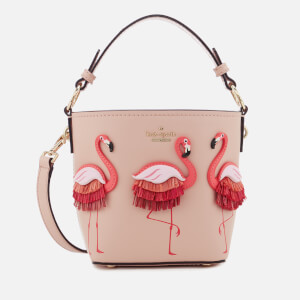 Kate Spade New York Women's Flamingo Pippa Satchel - Warm Vellum