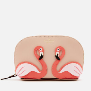Kate Spade New York Women's Flamingo Small Abalene Cosmetic Bag - Multi