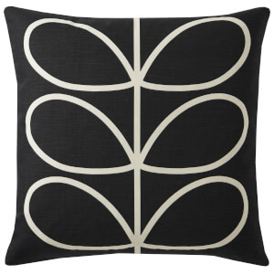 Orla Kiely Linear Stem Cushion - Slate