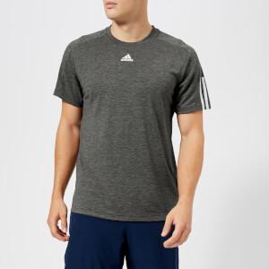 adidas Men's ID Stadium Short Sleeve T-Shirt - Grey