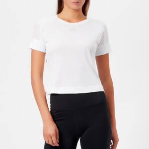 adidas Women's I.D Slim Short Sleeve T-Shirt - White