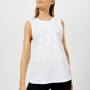 adidas Women's Essential Sleeveless T-Shirt - White