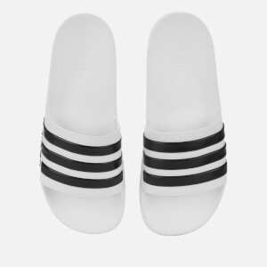 adidas Men's Adilette Shower Slide Sandals - White